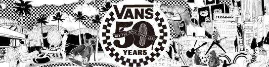 VANS 50TH ANNIVERSARY
