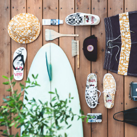 3/25(FRI) RELEASE THE VANS × YUSUKE HANAI SURF FOOTWEAR AND APPAREL CAPSULE