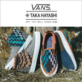 11/28(SAT) RELEASE VANS BY TAKA HAYASHI × PENDLETON
