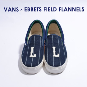 VANS x EBBETS FIELD FLANNELS SLIP-ON
