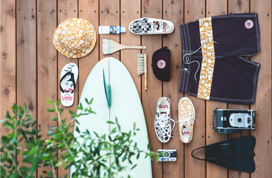 3/25(FRI) Release THE VANS X YUSUKE HANAI SURF FOOTWEAR AND APPAREL CAPSULE