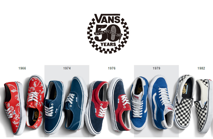 3/17(THU) Release PRO SKATE 50th ANNIVERSARY COLLECTION