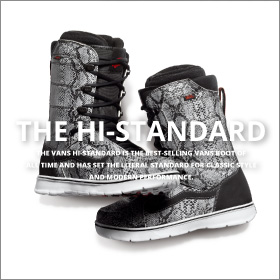 "2015-2016 Snowboard Boot Line Vans ""Off the Wall"" On the Snow"