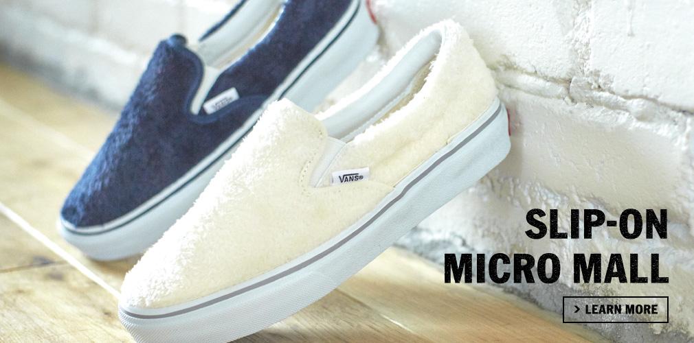 SLIP-ON MICRO MALL