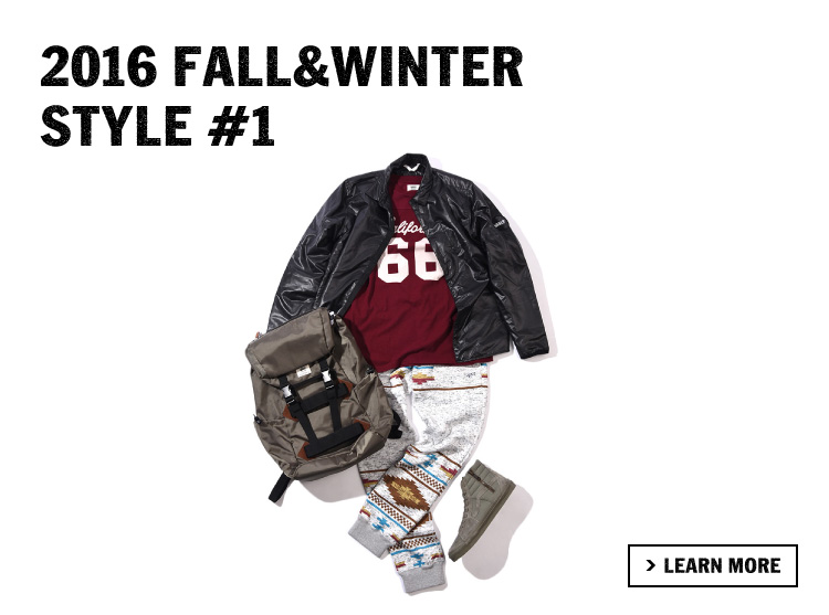 2016 FALL&WINTER STYLE #1