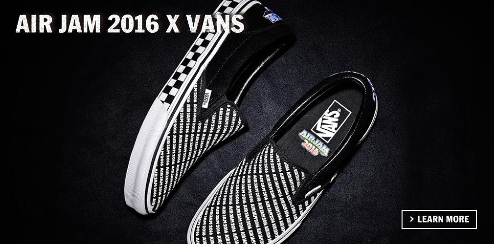 AIR JAM 2016 X VANS