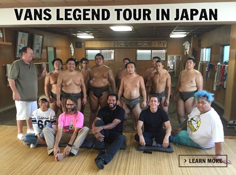 VANS LEGEND TOUR in JAPAN
