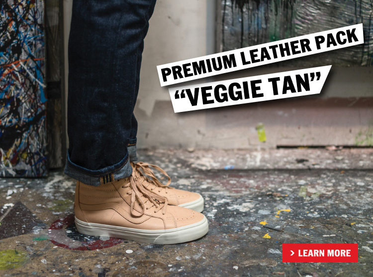 "PREMIUM LEATHER PACK ""VEGGIE TAN"""