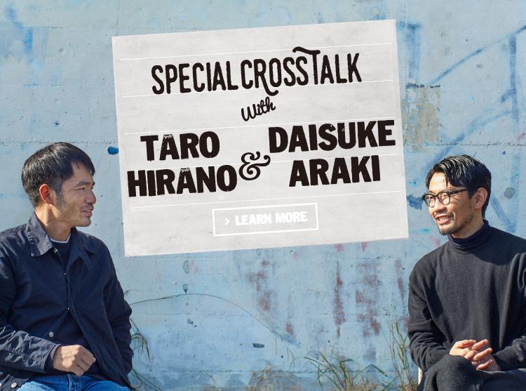 SPECIAL CROSSTALK with 平野太呂 & 荒木大輔
