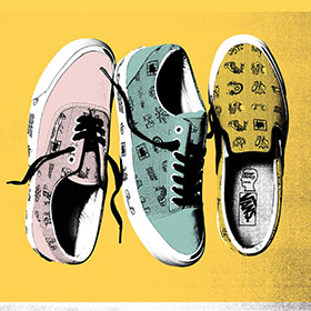 6/24(SAT)RELEASE   Vault by Vans Encapsulates Visual Mood of Brain Dead