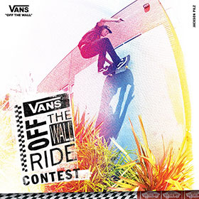 VANS OFF THE WALL RIDE CONTEST