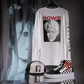 4/5(FRI)RELEASE VANS × DAVID BOWIE