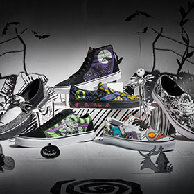 10/4(FRI) RELEASE VANS×THE NIGHTMARE BEFORE CHRISTMAS