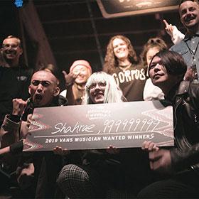 VANS MUSICIANS WANTED <span>日本代表</span>999999999<span>とオーストラリア代表</span>SHAHRAE<span>がダブル優勝!</span>