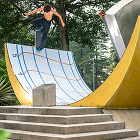 "VANS PRESENTS THE NEW SKATE FILM ""EYE OF THE STORM"""