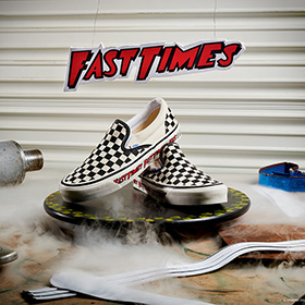Vans Anaheim Factory Collection<span>から</span>『Fast Times』Checkerboard Slip-On<span>が復刻</span>