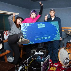 Vans Musicians Wanted<span>のアジア・パシフィック地区の勝者は韓国の</span>numnum<span>に決定</span>