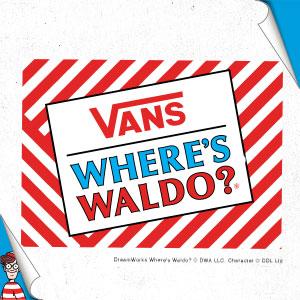 VANS<span>と『ウォーリーをさがせ!』がコラボレーション、あらゆる年齢層に向けた遊び心のあるコレクションがリリース</span>