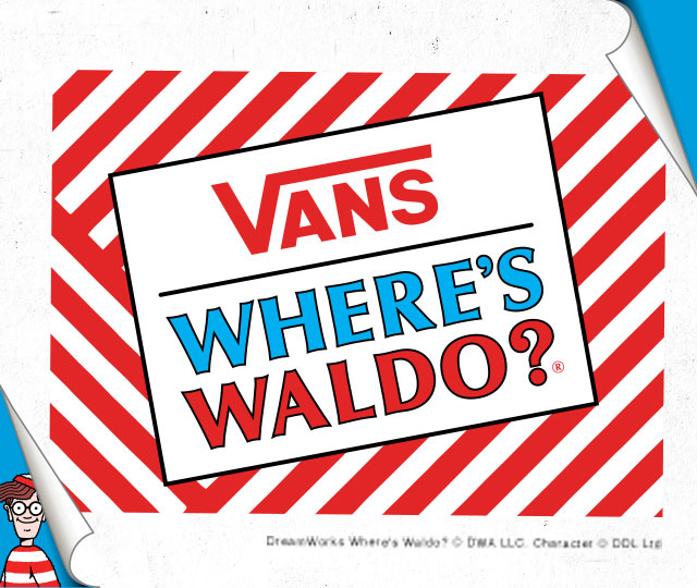 VANS『ウォーリーをさがせ!』
