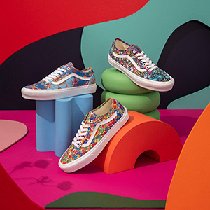 Vans<span>と</span>Liberty of London Fabrics<span>のコラボレーションコレクションが4月6日より発売</span>