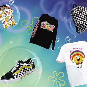 VANS<span>と</span>Nickelodeon<span>がタッグを組み、「スポンジ・ボブ」のシューズ、アパレル、アクセサリーを6月5日に発売</span>